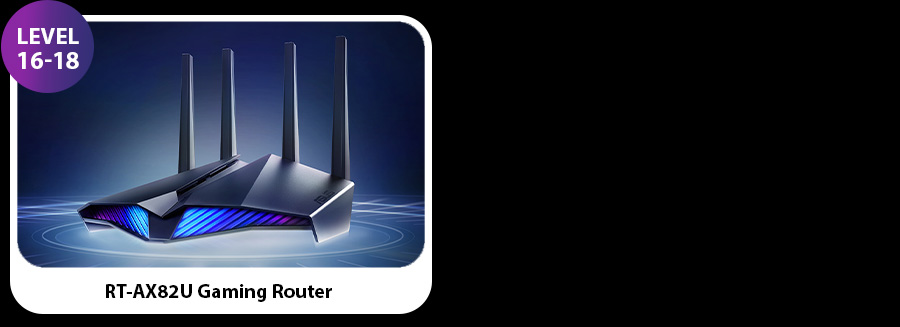 Level 16 to 18 - Gaming Router