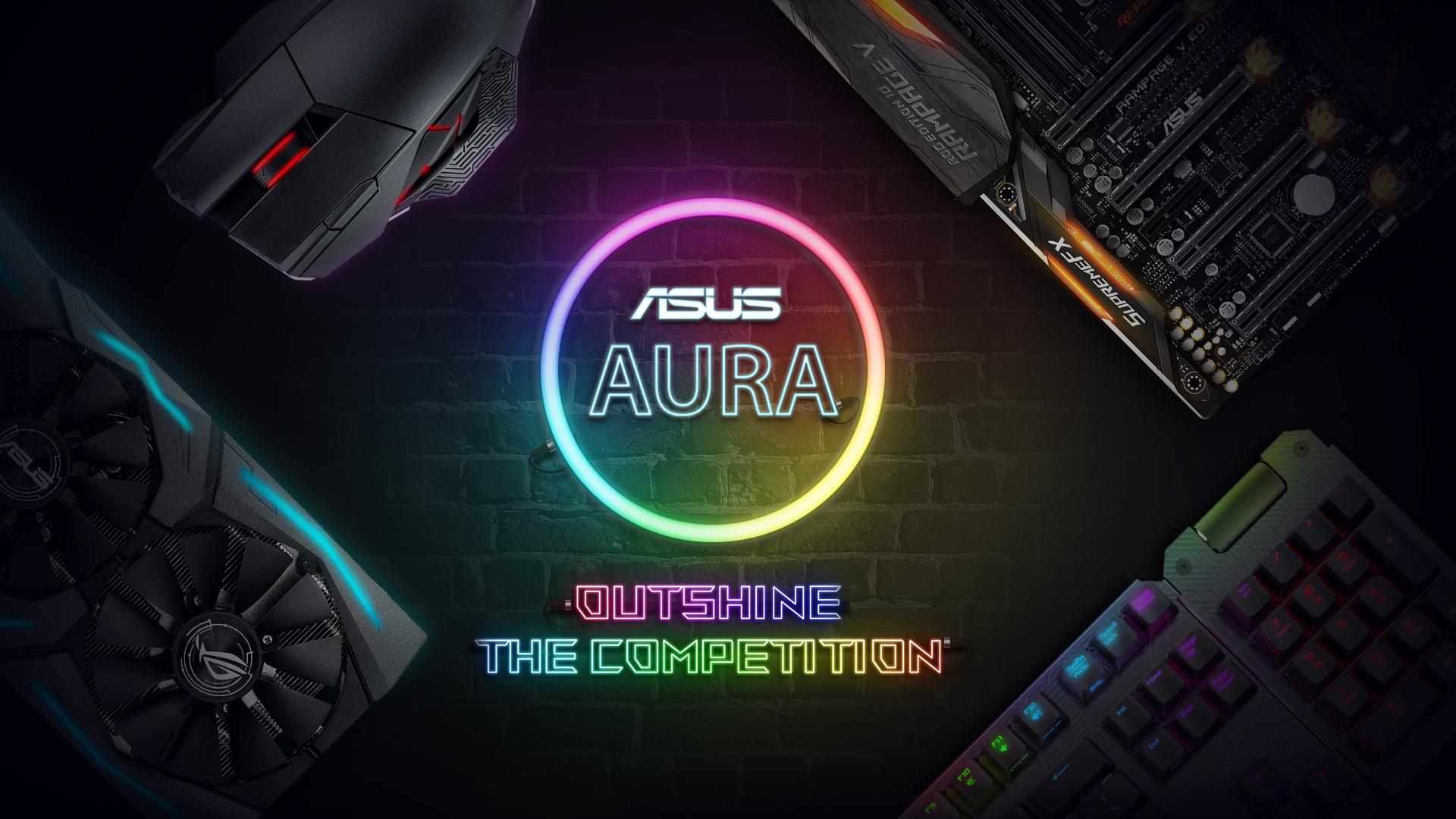 asus aura 中文 版