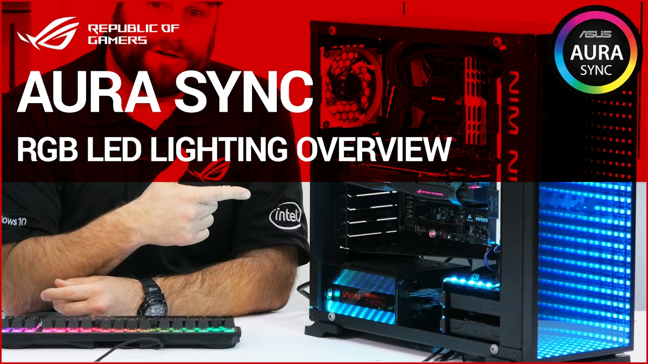 Aura Sync Perfect Lighting Synchronization