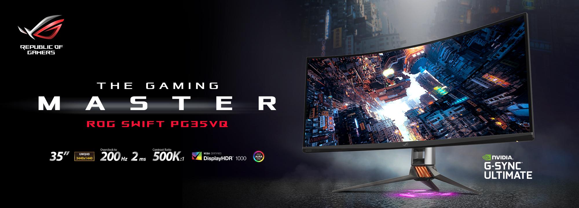 ASUS & ROG Best Gaming Monitors 2021