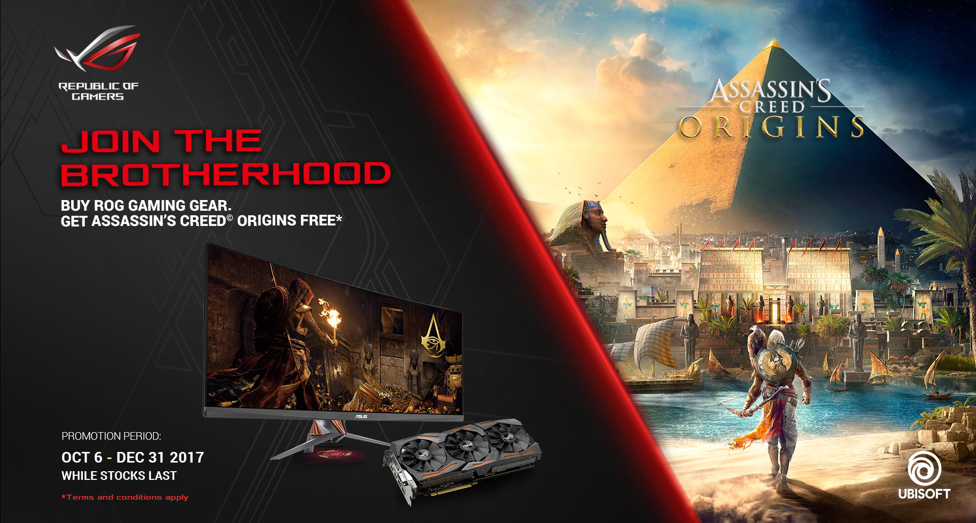 ASUS Assassin's Creed Origins Promotion