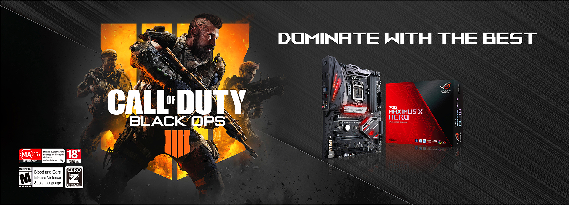 ROG Call of Duty Black Ops 4 | ASUS Singapore