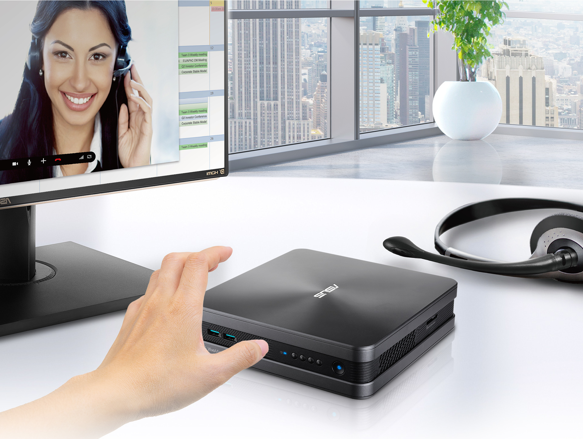 VivoMini VC68V-Mini PC-conference-skype