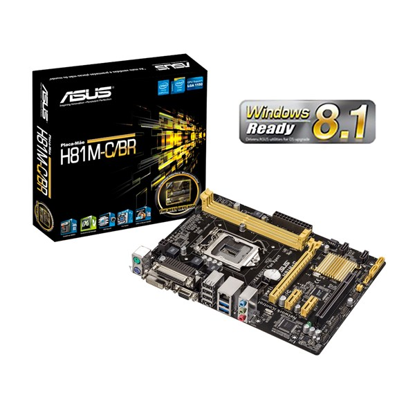 ASUS H81M-C/BR Windows 8 Driver Download
