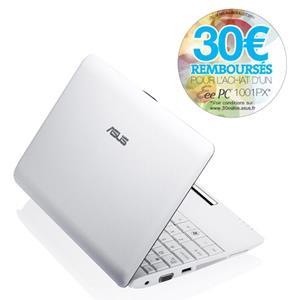 Eee PC 1001PX (Seashell) Manual | Ordinateurs portables | ASUS France