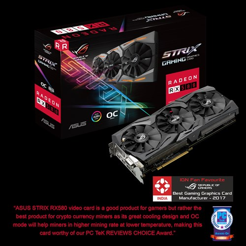 ROG-STRIX-RX580-8G-GAMING | Graphics Cards | ASUS India