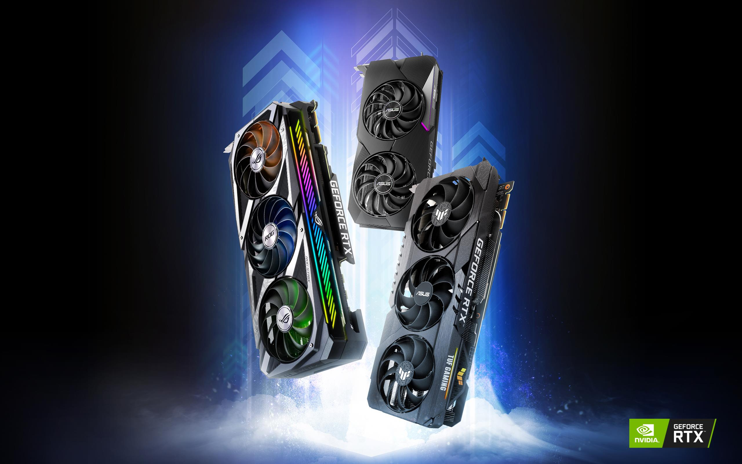ASUS GeForce RTX™ 3060 Ti Graphics Cards