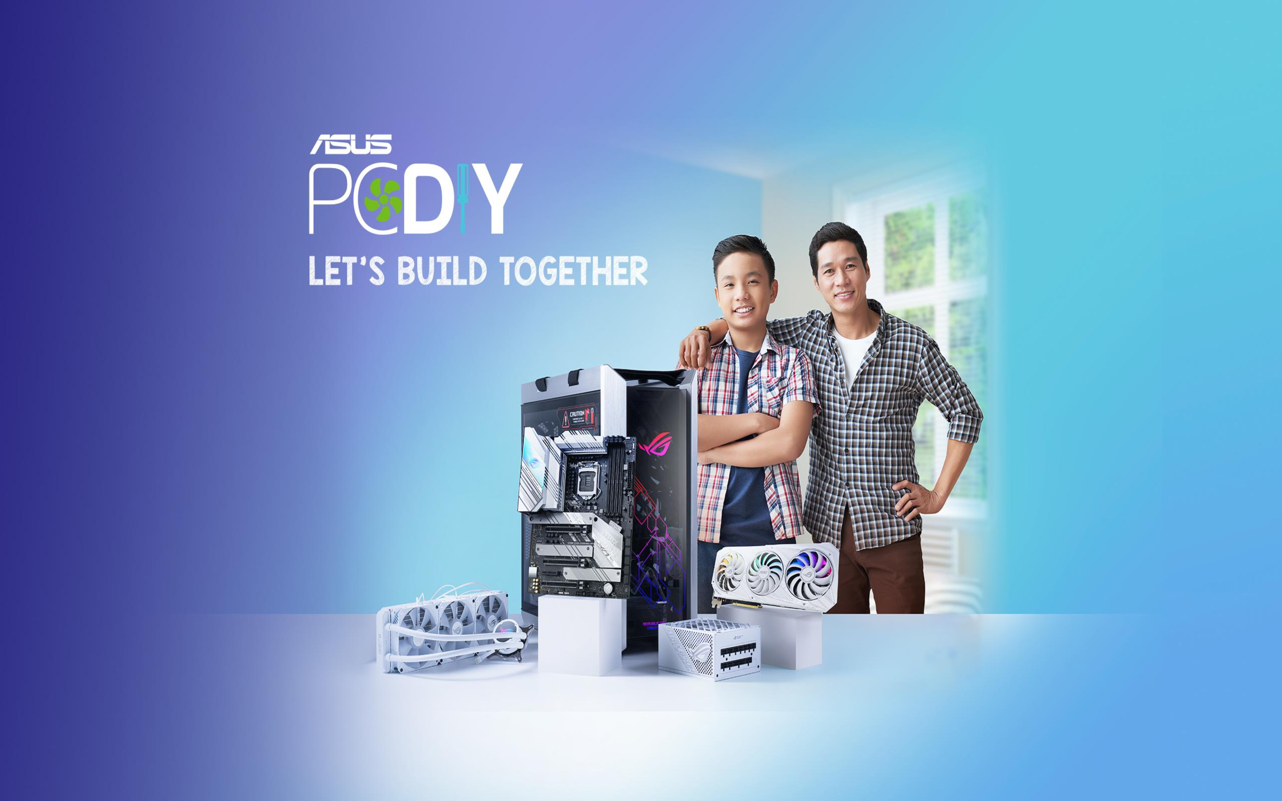 Build A PC with ASUS!