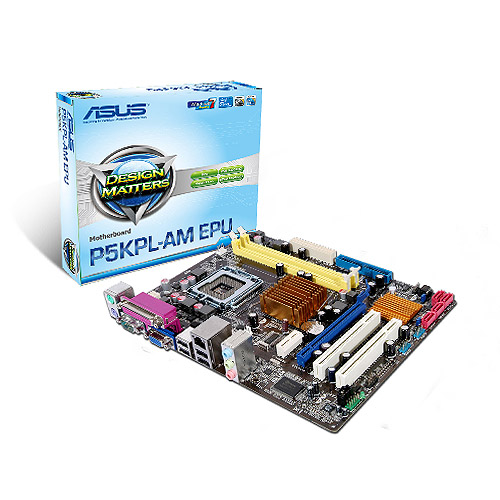 ASUS P5KPL-AM EPU VIDEO DRIVERS