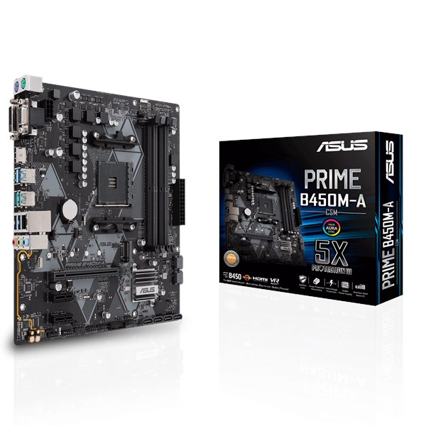 Prime B450m A Csm Motherboards Asus Usa