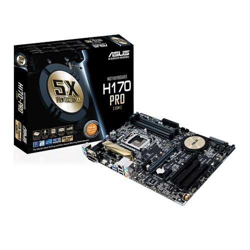 NEW DRIVERS: ASUS H170-PRO INTEL