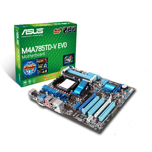 Asus M4A785TD-V EVO/U3S6 AMD Chipset Download Drivers