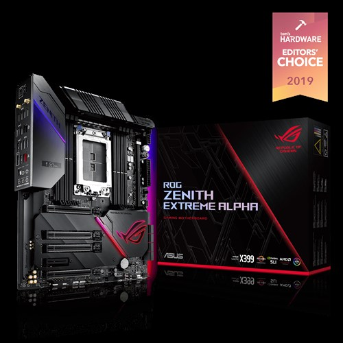 Rog Zenith Extreme Alpha Motherboards Asus Usa