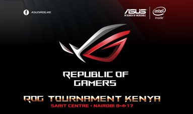 Asus ROG Tournament Kenya 2017