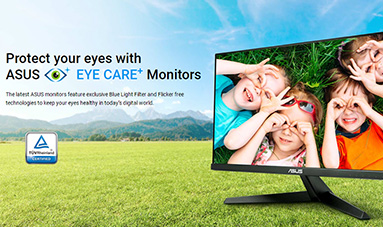 ASUS EYE CARE Monitors