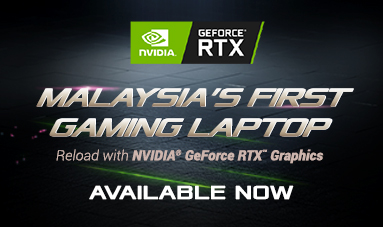 Bruneian's First Gaming Laptop with RTX Graphics