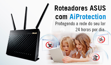 Roteadores ASUS com AiProtection