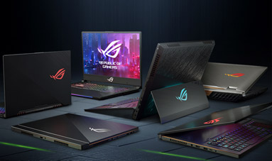 ROG notebooky s GeForce RTX™ 20