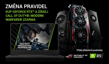 Kup GeForce RTX™ a získej Call of Duty®: Modern Warfare® zdarma