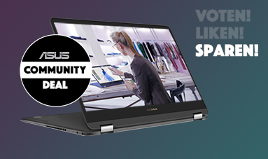 DER ASUS COMMUNITY DEAL – Voten, Liken, Sparen!