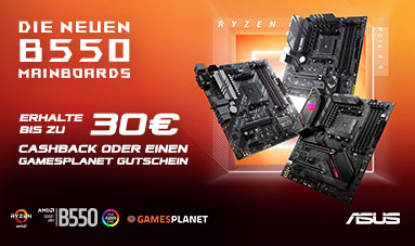 AMD B550 Cashback Aktion