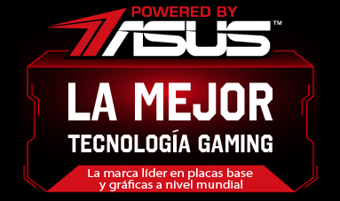 PCs de sobremesa Powered by ASUS
