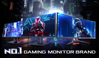 No.1 Gaming Monitor Brand