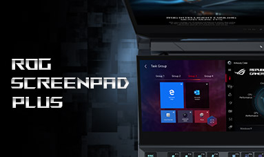 ROG ScreenPad Plus