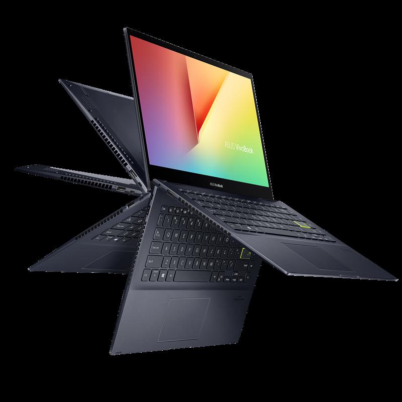 ASUS Flip 14 TM420 convertible laptop, black
