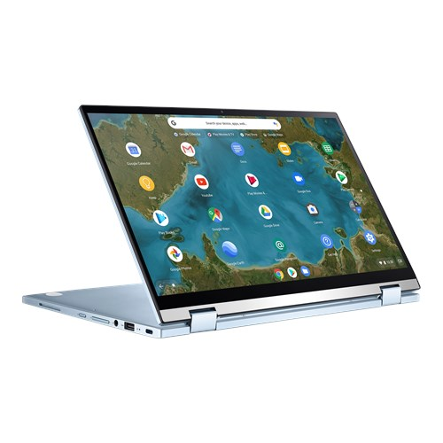 Das ASUS Chromebook Flip C433TA ein Chromebook, welches sich auch als Tablet verwenden lässt.