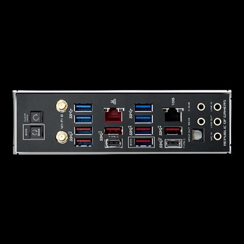 TRX40 Zenith II Extreme Alpha Backpanel