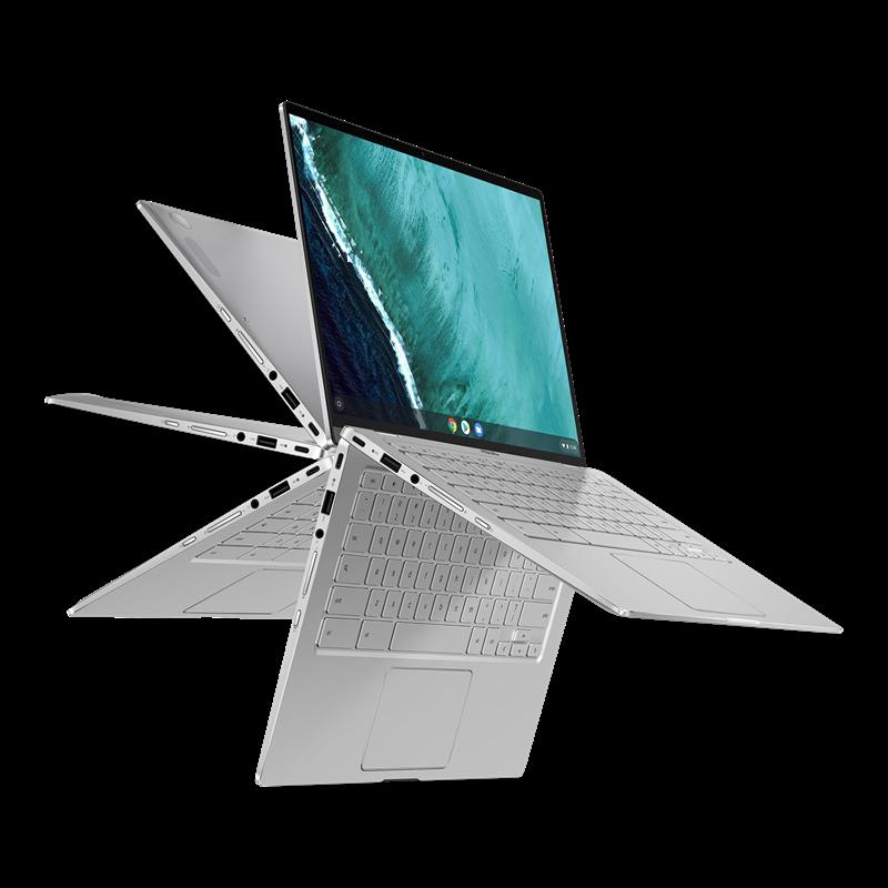 ASUS Chromebook Flip, Silver