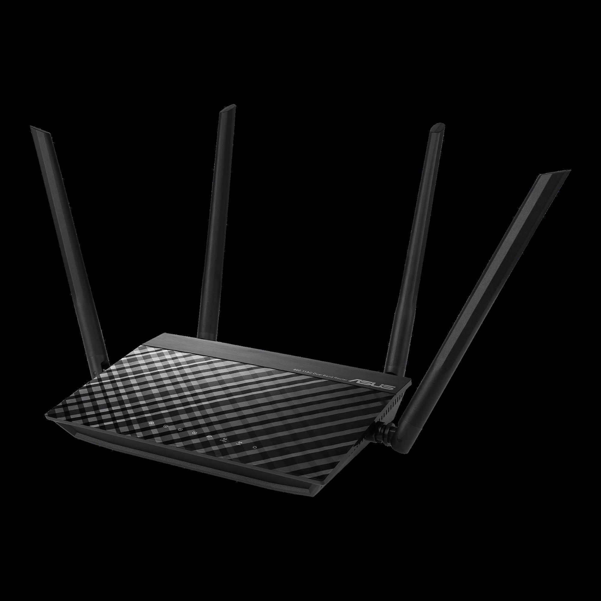Router Asus Ac1200 V2 4 Antenas 2Xbanda