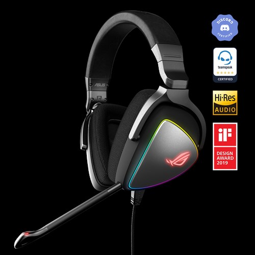 02bd9a13630 RGB gaming headset with Hi-Res ESS Quad-DAC, circular RGB lighting effect  and USB-C connector for PCs, consoles and mobile gaming