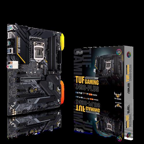 Board Asus Tuf Z490 Plus Gaming Wifi Cross A V R 4Ddr4 X