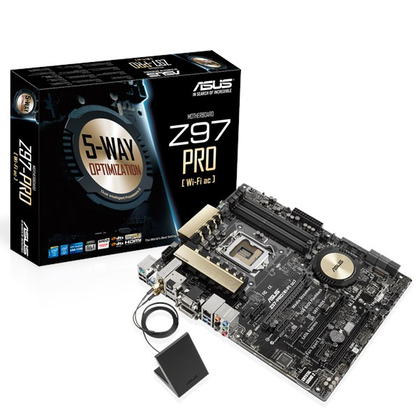 Z97-PRO(Wi-Fi ac) | Motherboards | ASUS USA