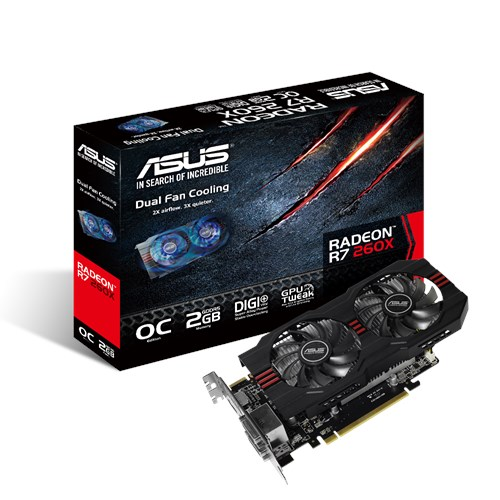 R7260X-OC-2GD5 | Graphics Cards | ASUS USA