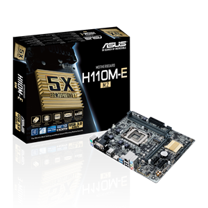H110M-E/M 2 Driver & Tools | Motherboards | ASUS USA