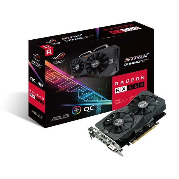ROG-STRIX-RX560-O4G-GAMING | Graphics Cards | ASUS USA