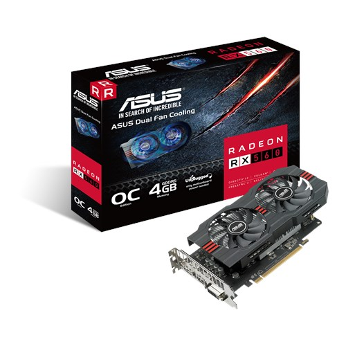 RX560-O4G | Graphics Cards | ASUS Global