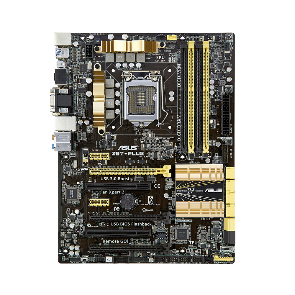 Asus Z87-Plus (LGA 1150 - DDR3 1600) - Chipset Int