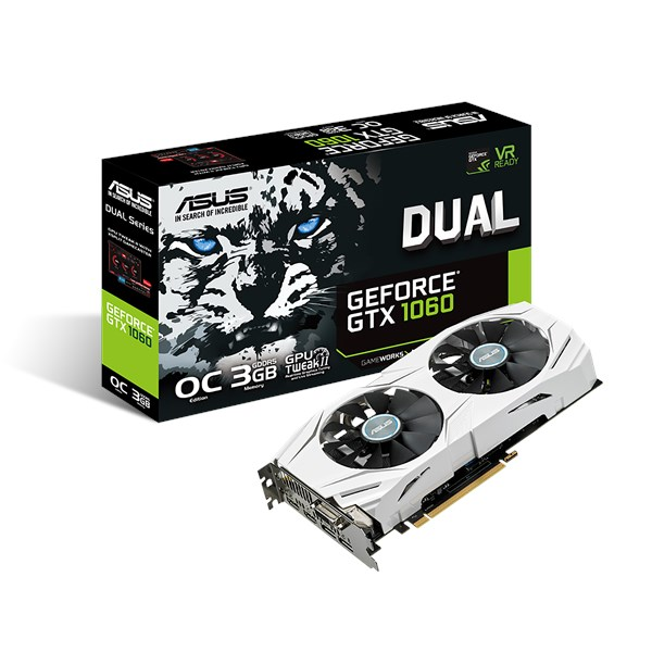 DUAL-GTX1060-O3G | Graphics Cards | ASUS Global
