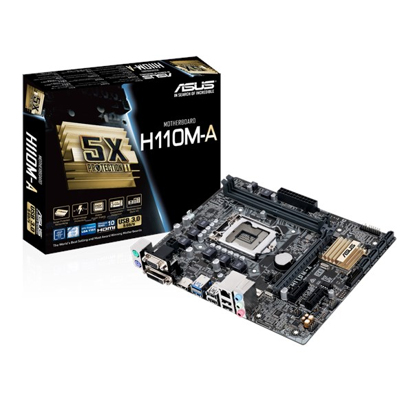 ASUS  H110-I//M32CD4//DP/_MP Motherboard LGA 1151 DDR4 with I//O Shield New Tested