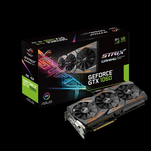 Rog Strix Gtx1060 O6g Gaming Graphics Cards Asus Global