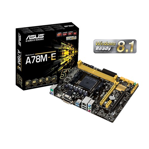 DRIVER UPDATE: ASUS A78M-E MOTHERBOARD