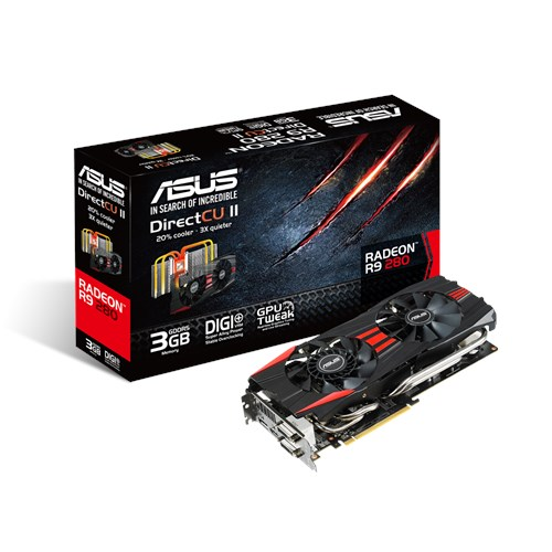 R9280-DC2-3GD5 | Graphics Cards | ASUS Global