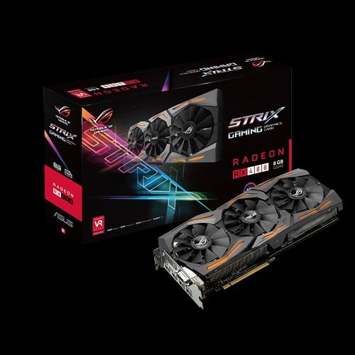ROG STRIX-RX480-8G-GAMING | كروت الشاشة | ASUS