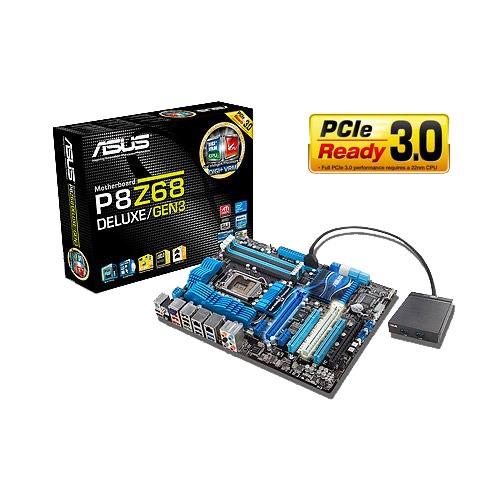 Asus P8Z68 DELUXE/GEN3 Intel Chipset Drivers Mac