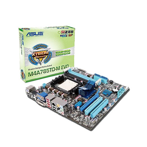 Asus M4A785TD-V EVO/U3S6 AMD Chipset Drivers for Windows 7