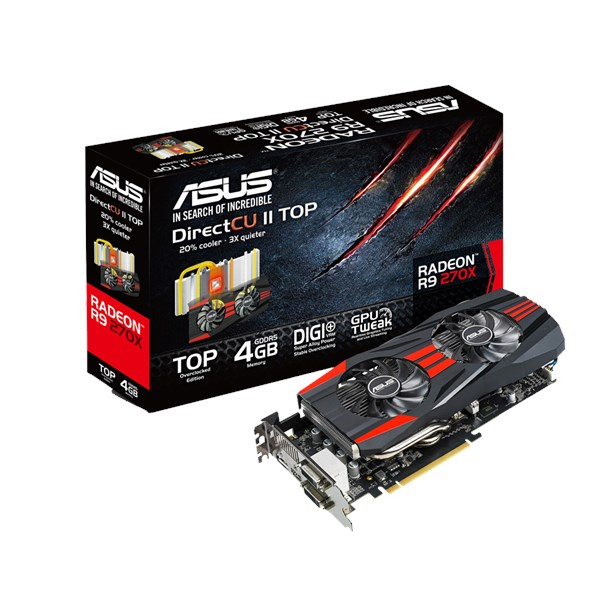 R9270x Dc2t 4gd5 Graphics Cards Asus Global